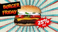 Burger Friday Facebook Cover Video