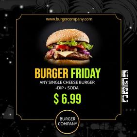burger insta1 video