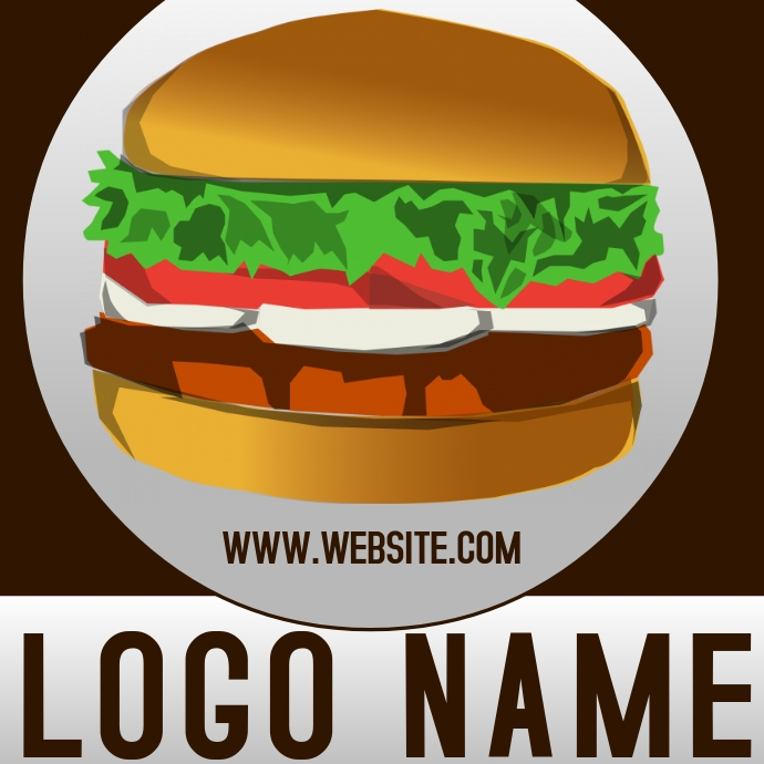 bURGER logo icon