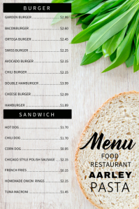 Burger Menu US Legal