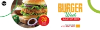 Burger Offer LinkedIn Career Cover Photo template