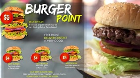 BURGER POINT Digitalanzeige (16:9) template