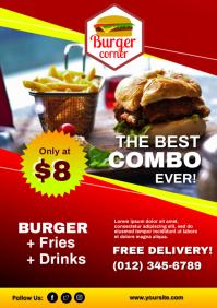 Burger Promo Flyer