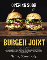 Burger restaurant opening soon
