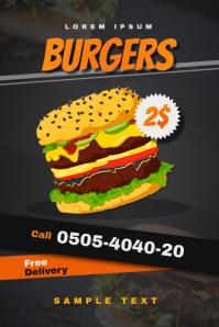 Burger Shop Flyer (Offer)
