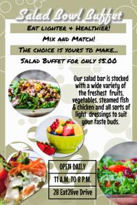 salad bar buffet template