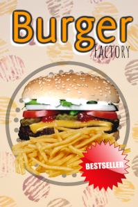 burger shop template