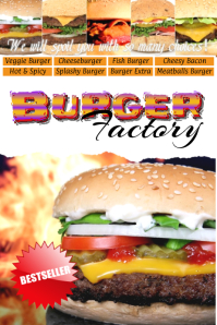 burger shop template