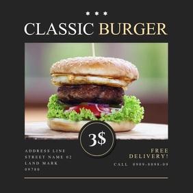 Burger Shop Video Ad