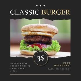 Burger Shop Video Ad Design2