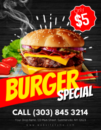Burger Special Flyer