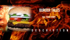Burger Tales Blog Header template
