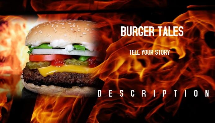 Burger Tales Blog Header template
