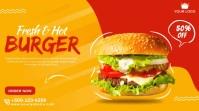 Burger Twitter Post.. template