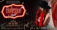 Burlesque Facebook Shared Image template