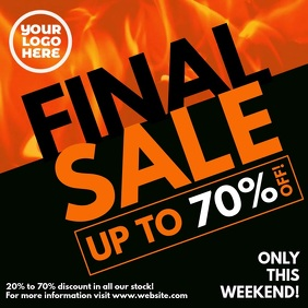 Burning Fire Final Sale Square Video