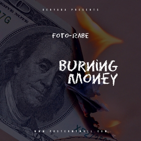 Burning Money Mixtape Cover