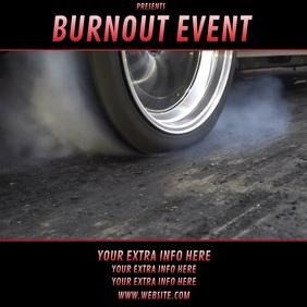 BURNOUT EVENT RACING template