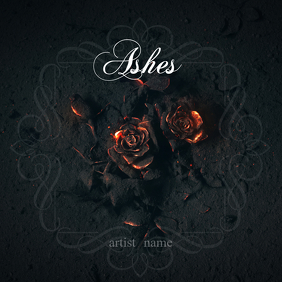 Burnt roses album art