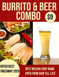 burrito & beer combo