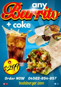 Burrito Special Leaflet