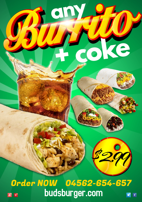 Burrito Special Poster