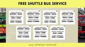 Bus Service Schedule Template Umbukiso Wedijithali (16:9)