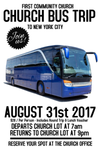 1 000 customizable design templates for bus trip postermywall