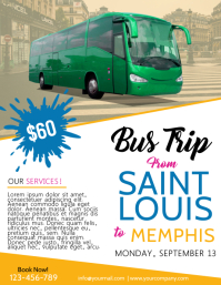 Flyer for bus trip ibovnathandedecker customizable design templates for bus trip flyer postermywall maxwellsz