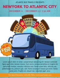 Bus Trip Flyer Template