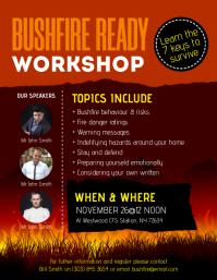 Bushfire Ready Workshop Fleyr
