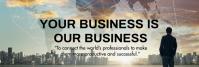 Business, corporate, event Bannière LinkedIn template