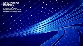 BUSINESS ABSTRACT VIDEO BACKGROUND Цифровой дисплей (16 : 9) template