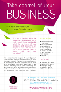 Business Accountant Flyer