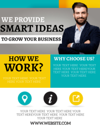 BUSINESS ADVISOR SERVICES AD FLYER TEMPLATE