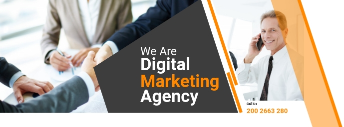 Business Agency Flyer Facebook Omslag Foto template