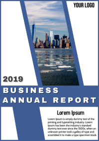 Business Annual Flyer Template