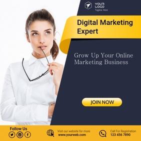 Business Banner Advertising Publicação no Instagram template