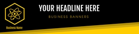 Business BANNER template 横幅 2' × 8'