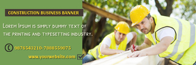Business Banner Template Design Spanduk 2' × 6'