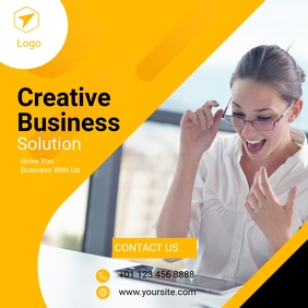 Business Banner Template for Instagram