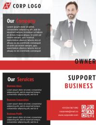 Business Brochure & Flyer Design Template
