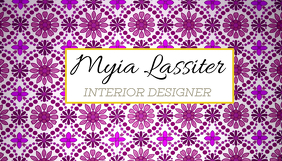Business Card - Interior Designer