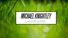 Business Card - Landscaper