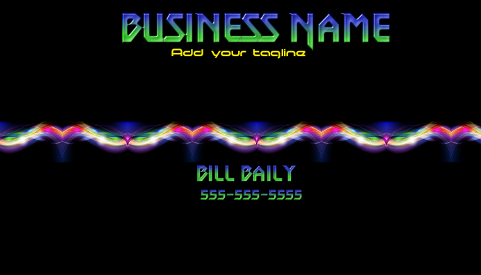 Business Card 3 High Tech and Smoke
