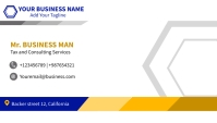 business card and name card design template Wizytówka