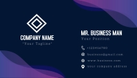 business card and name card design template
