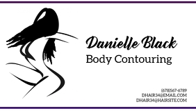 Business card body contouring