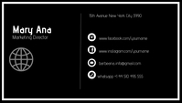 BUSINESS CARD CARTAO DE VISITA template