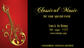 Business Card Classical Music